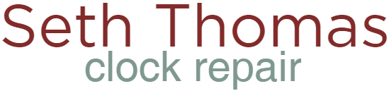 Seth Thomas Clock Repair