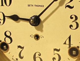 seth thomas clock repair